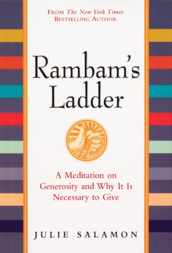 9780761128090: Rambam's Ladder: A Meditation on Generosity and Why It Is Necessary to Give
