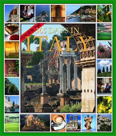 9780761128373: 365 Days in Italy Calendar 2004