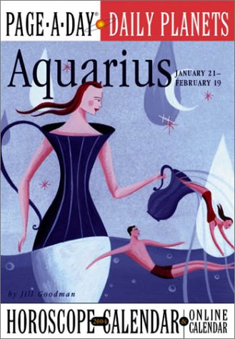 Aquarius Page-A-Day Daily Planets Horoscope Calendar 2004 (Page-A-Day(r) Daily Planets Horoscope ...