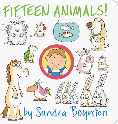 Fifteen Animals! (0761130667) by Boynton, Sandra