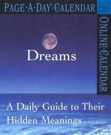 9780761132806: Dreams Page-A-Day Calendar 2005: A Daily Guide to Their Hidden Meanings (Page-A-Day Calendars)