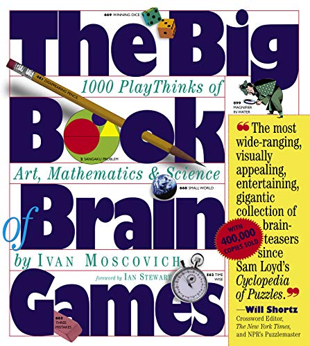 9780761134664: The Big Book of Brain Games: 1,000 PlayThinks of Art, Mathematics & Science
