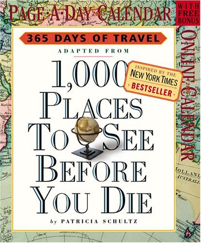 9780761135494: 1,000 Places to See Before You Die Page-A-Day Calendar 2005 (Page-A-Day Calendars)