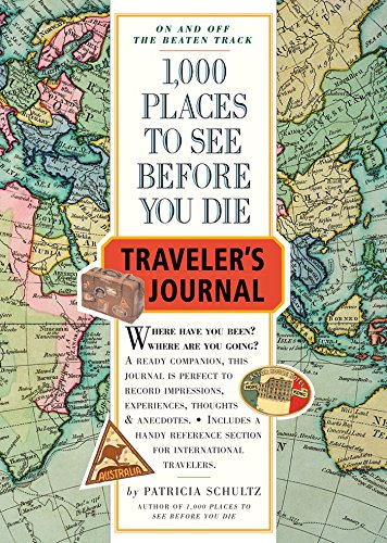 9780761138327: 1000 Places to See Before You Die Traveler's Journal