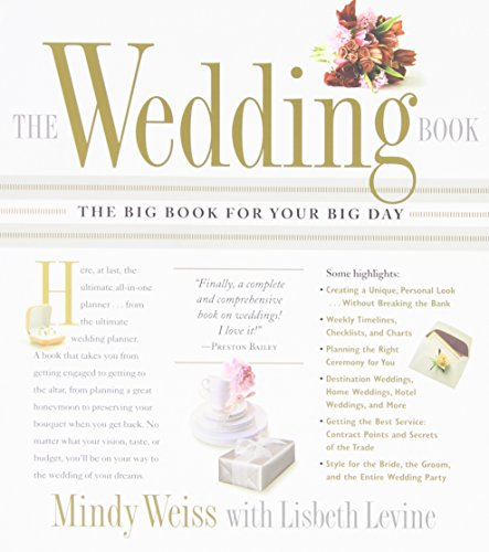 9780761139607: The Wedding Book: The Big Book for Your Big Day