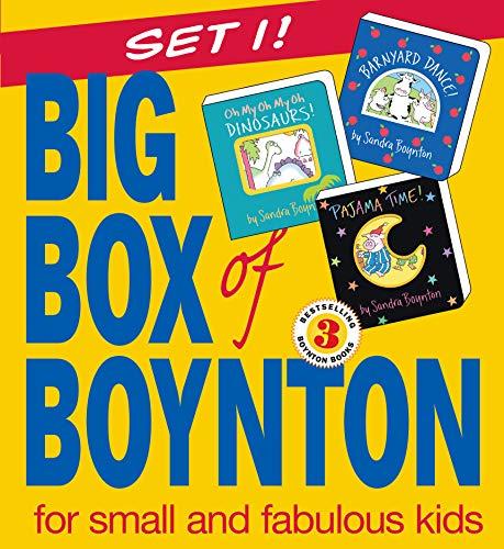 9780761139898: Big Box of Boynton: Barnyard Dance! Pajama Time! Oh My Oh My Oh Dinosaurs!: WITH
