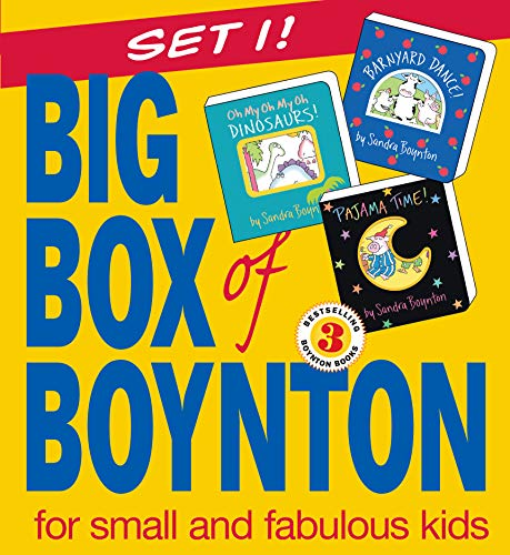 "9780761139898: Big Box of Boynton for Small Kids: Barnyard Dance! Pajama Time! Oh My Oh My Oh Dinosaurs!: WITH ""Barnyard Dance!"" AND ""Oh My, Oh Dinosaurs!"" AND ""Pajama Time!"""