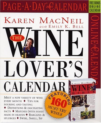 9780761140139: The Wine Lover's Page-A-Day Calendar 2007 (Page-A-Day Calendars)
