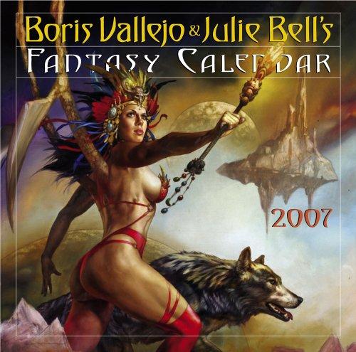 9780761140320: Boris Vallejo/Julie Bell Fantasy Cal 07 (Wall Calendar)