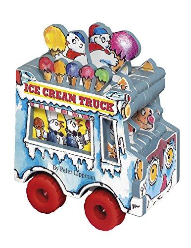 Mini Wheels Books: The Ice Cream Truck (0761140336) by Peter Lippman