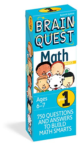 9780761141358: Brain Quest Grade 1 Math, Revised 2nd Edition