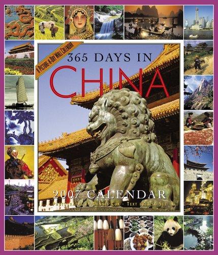 9780761142294: 365 Days in China Calendar 2007