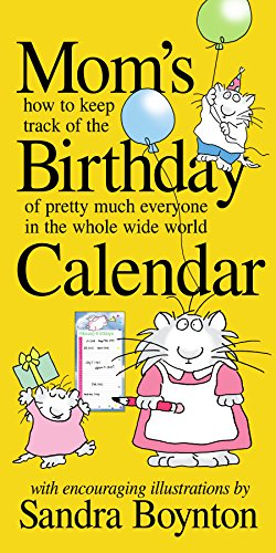 9780761142898: Mom's Birthday Calendar: Perpetual: How to Keep Track of the Birthday of Pretty Much Everyone in the Whole Wide World