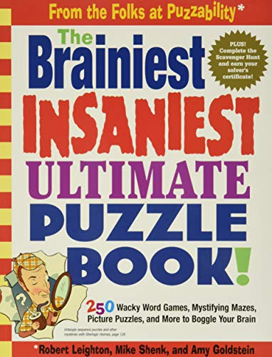 9780761143864: Brainiest, Insaniest, Ultimate Puzzle Book!