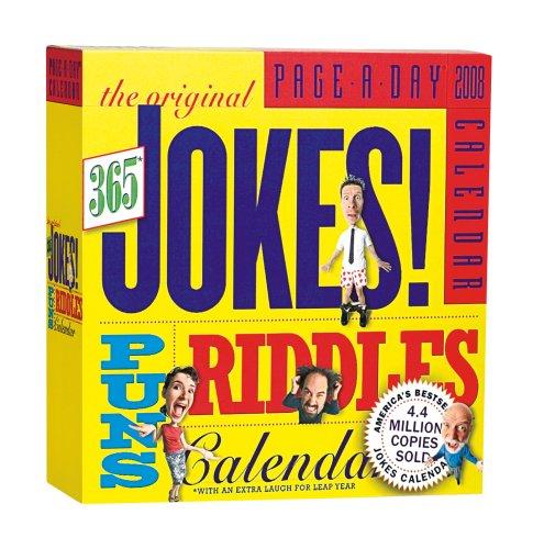 9780761144939: The Original 365 Jokes, Puns & Riddles Page-A-Day Calendar 2008
