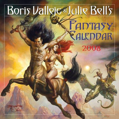 9780761144946: Boris vallejo wall calendar 2008