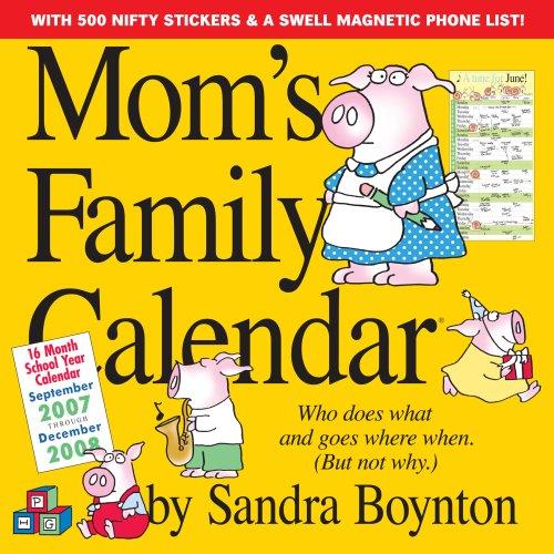 9780761145615: Mom's Family Calendar 2008