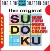 The Original Sudoku Page-A-Day Calendar 2008: Editors of Nikoli Publishing
