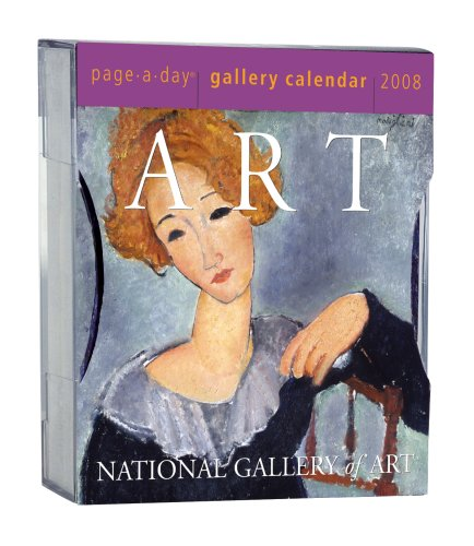 Art Page-A-Day Gallery Calendar 2008: Workman Publishing