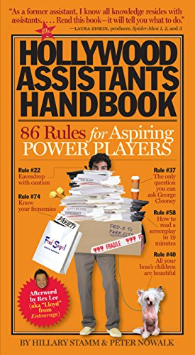9780761147466: The Hollywood Assistants Handbook: 86 Rules for Aspiring Power Players