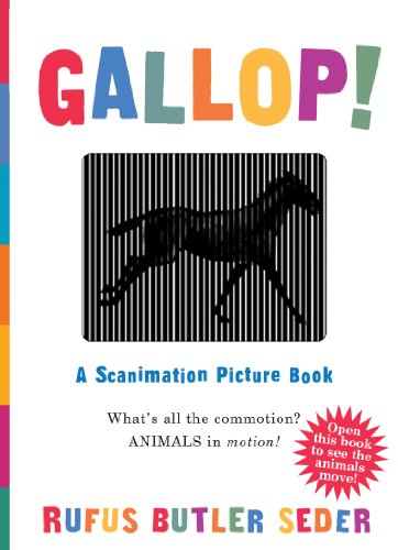 9780761147633: Gallop!: A Scanimation Picture Book