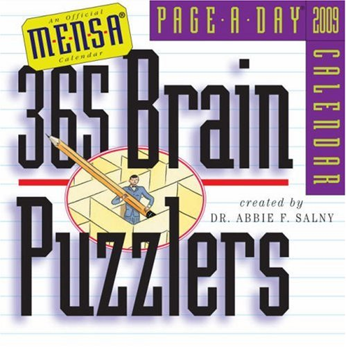 9780761148630: Mensa 365 Brain Puzzlers Page-A-Day Calendar 2009