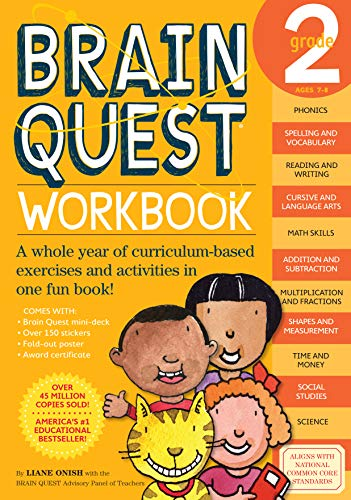 9780761149156: Brain Quest Workbook, Grade 2