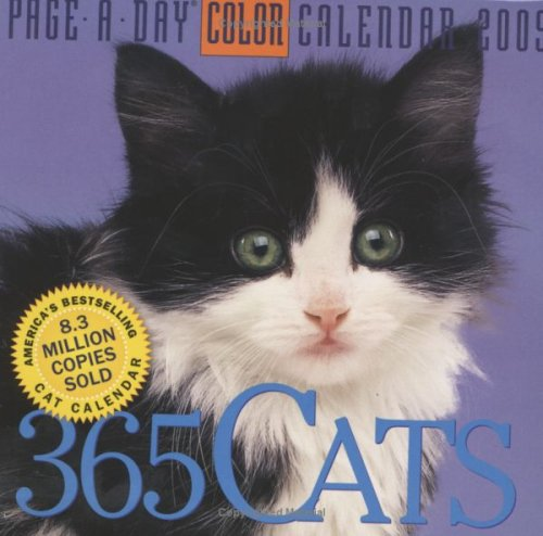 365 Cats Page-A-Day Calendar 2009 (Color Page-A-Day(r) Calendars): Workman Publishing