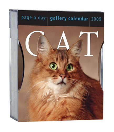 Cat Gallery Calendar 2009: Workman Publishing