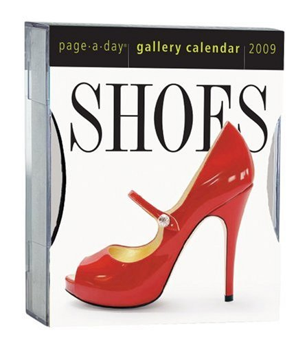 Shoes Gallery Calendar 2009: Workman Publishing
