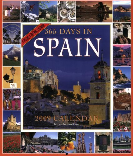 9780761150008: 365 Days in Spain Calendar 2009 (Picture-A-Day Wall Calendars)