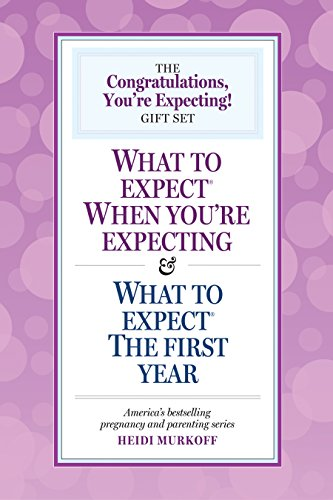 9780761150350: The Congratulations, You're Expecting! Gift Set: What to Expect When You're Expecting & What to Expect the First Year