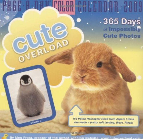 9780761150572: Cute Overload Page-A-Day Calendar 2009 (Color Page-A-Day(r) Calendars)