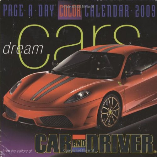 9780761150589: Dream Cars Page-A-Day Calendar 2009