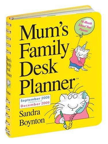 9780761151197: Mum's Family Desk Planner (Mums Family Calendar Collectn)