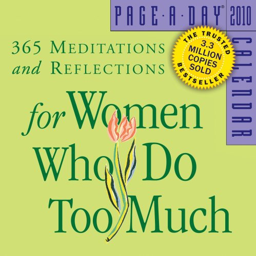 9780761152224: For Women Who Do Too Much Page-A-Day Calendar 2010