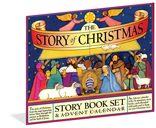 9780761152507: The Story of Christmas Story Book Set & Advent Calendar