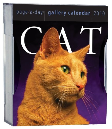 Cat Gallery Calendar 2010 (Page-A-Day Gallery Calendars): Workman Publishing