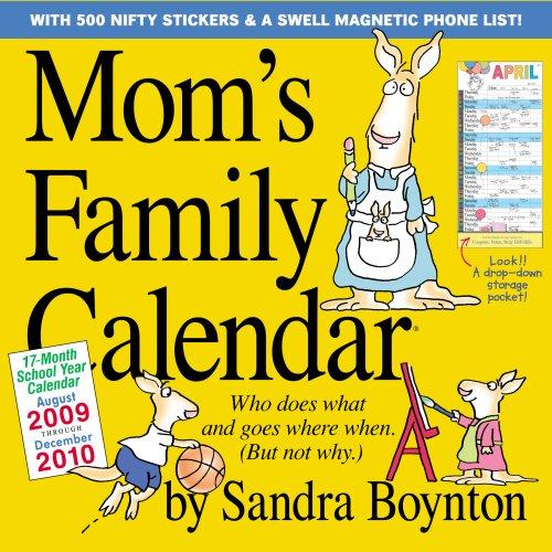 9780761153245: Mom's Family Calendar 2010