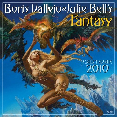 9780761153283: Boris Vallejo & Julie Bell's Fantasy Calendar 2010