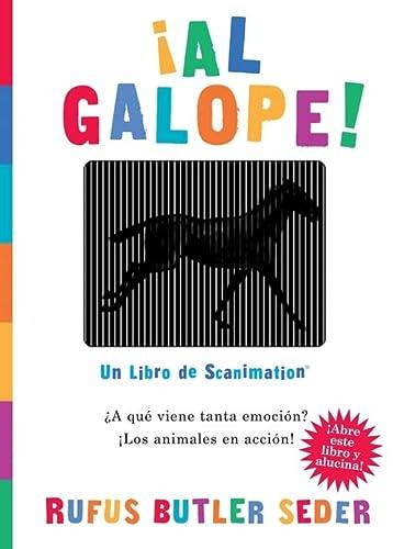 9780761154150: Al Galope!: Un Libro de Scanimation