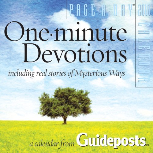 9780761155058: One-Minute Devotions Page-A-Day Calendar 2010
