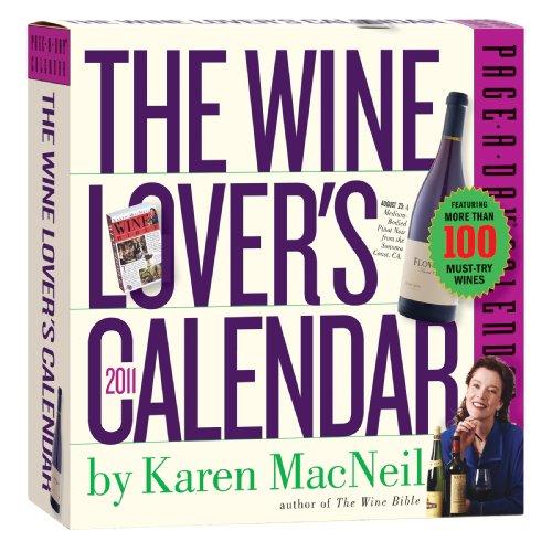 The Wine Lover's 2011 Page-A-Day Calendar: Karen MacNeil
