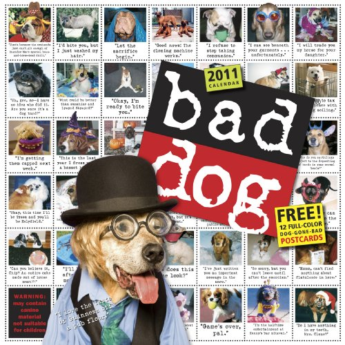 9780761157571: Bad Dog Wall Calendar 2011