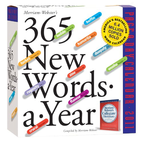 365 Words-A-Year 2011 Page-A-Day Calendar