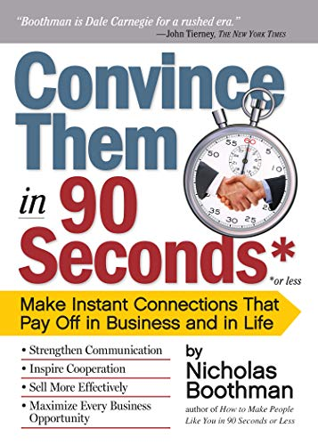9780761158554: Convince them in 90 Seconds