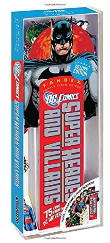 9780761158561: Fandex Deluxe: DC Comics Super Heroes and Villans