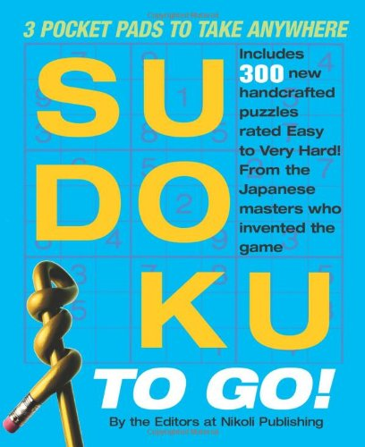 9780761158752: Sudoku to Go!: 3 Pocket Pads to Take Anywhere
