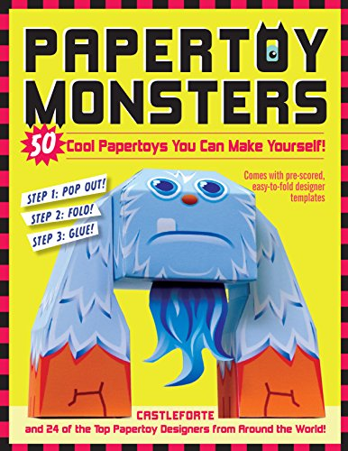 9780761158820: Papertoy Monsters: 50 Cool Papertoys You Can Make Yourself!