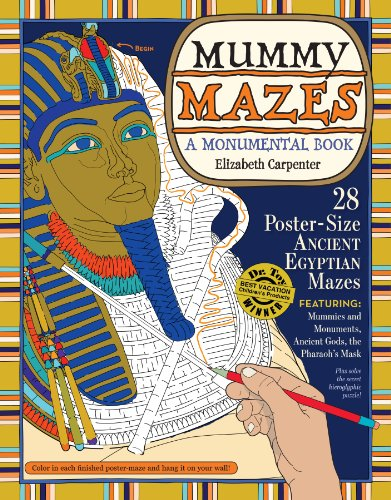 9780761160748: Mummy Mazes: A Monumental Book